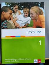 GREEN LINE 1 - STANDARDAUFGABEN MIT LEHRERSOFTWARE inklusive Audio-tracks
