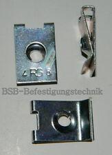50 Stk. Blechmutter 4,2mm Stahl verzinkt , Klemmmutter , Schnappmutter II