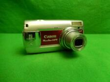 Canon PowerShot A470 7.1MP Digital Camera - Pink Tested and Working