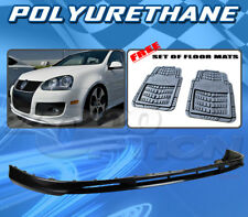 FOR VW GOLF MK5 JETTA 06-09 FRONT BUMPER LIP + DICKIES FLOOR MAT GREY