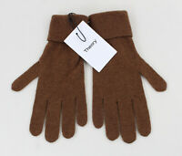Theory NWT Women's Driftwood Brown Soft Cashmere Gloves One Size