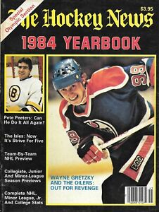 The Hockey News 1984 Yearbook - Oilers legend Wayne Gretzky cover