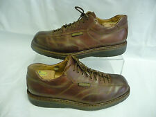 MEPHISTO Mens Athletic Oxfords Size 10 Abel Brown Leather Air Relax Soles France