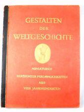 Sammelbilder Album - Gestalten der Weltgeschichte Cigaretten-Bilderdienst, 1933