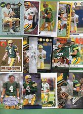 Brett Favre (Green Bay Packers/Minnesota Vikings) 15 card Lot W/ Rookie