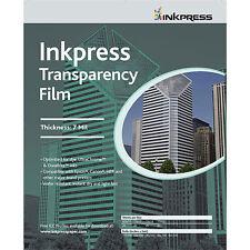 "Inkpress Transparency Film for Inkjet Printers 17""x22"" 40 Sheets"