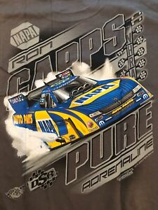 "NHRA DRAG RACING ""PURE ADRENALINE"" RON CAPPS T- SHIRT  SIZE 3X"