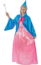 Adult Fairy Godmother Costume Princess Fairy Tale Books Film Fancy Dress