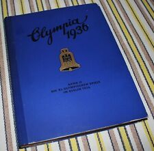Die Xi. Olympischen Spiele In Berlin 1936 / Olympia / Band Ii / Germany / Book