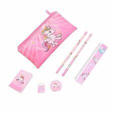Pink Unicorn Pencil Case Kids Girls Boys School Supplies Stationery Pretty