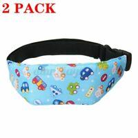 2-Pack Safety Kids Baby Stroller Car Seat Sleep Nap Aid Head Fasten Support Belt