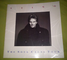 "STING ""THE SOUL CAGES TOUR"" RARE OFFICIAL PROGRAM / THE POLICE"