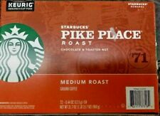 Starbucks Pike Place, Medium Roast Coffee Keurig K-Cups 144 Count