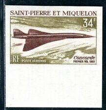 ST PIERRE et MIQUELON 1969 432U ** POSTFRISCH CONCORDE Yvert PA43nd (D9074