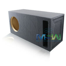 12-Inch CUSTOM-PORTED MDF CAR STEREO SUB WOOFER ENCLOSURE 3 CU. FT. TUNED @ 35Hz