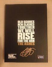 Hand Signed ALASTAIR COOK Ashes BOX SET 2013 Progs. ENGLAND v AUSTRALIA + my COA