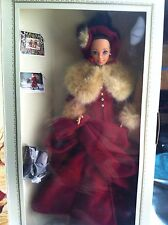1st Edition1994 Holiday Hallmark Victorian Elegance Barbie Doll NRFB/NOS