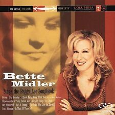 NEW Sings the Peggy Lee Songbook by Bette Midler (CD, Oct-2005, Columbia (USA))