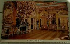 Vintage Color Photo Postcard Ball Room, Marble House, VGC
