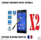Film Protection Ecran Verre Trempé tout Sony Xperia Série Z3/Z5 compact M4 M5 M2