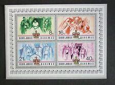 Bahamas 1977 Silver Jubilee MS Miniature Sheet MNH UM unmounted mint