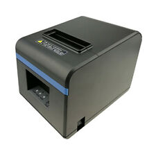 Pos Thermal Receipt Printer Usb Port With Power Supply 80mm