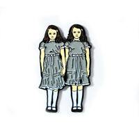 The Shining Evil Twins Horror Series Movie Pin