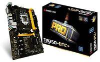 Biostar 208044 Motherboard Tb250-btc+ Core I7/i5/i3 Lga1151 B250 Ddr4 Sata 8xpci