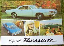 1967 Plymouth Barracuda Sales Brochure - Canadian 67