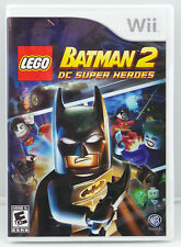 lego batman 2 dc super heroes video games with manual for sale ebay rh ebay com lego batman 2 xbox 360 manual lego batman 2 wii manual