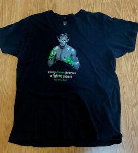 Alternitive vintage soft Micky 'Irish' Ward Boxing T-Shirt Men's L