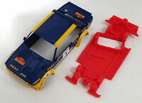 Chasis 131 Abarth compatible SCX Scalextric ES AW High Performance Mustang