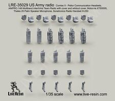 Live Resin 35029 1/35 US Army AN/PRC-148 Multiband Inter/Intra Team Radio