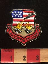 GULF WAR - American Patriotic USA Patch Flag Theme 85N5