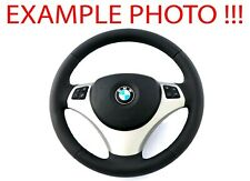 BMW 1 3 E81 E82 E87 E88 E90 E91 E92 E93 NEW Leather Sport Look Steering Wheel