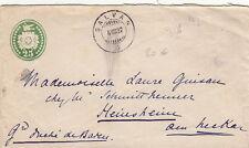 Lettre Suisse Salvan pour Duché de Bade 1897 Cover Switzerland