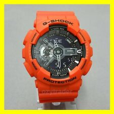 New Casio G-Shock GA-110MR-4A XL Orange & Black Shock & Water Resistant Watch
