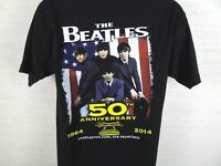 Paul McCartney Concert T-Shirt 2014 Out There Beatles 50th Anniversary Medium