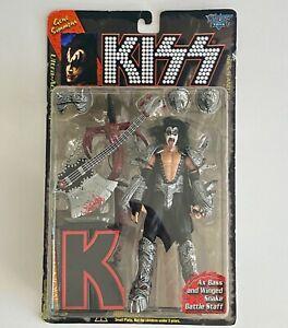 Gene Simmons McFarlane Toys Kiss Action Figure (Series 1, June 1997)