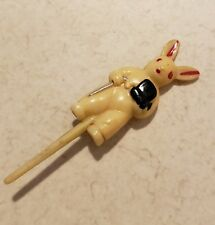 Unique Vintage Japan Celluloid Bunny Cake 00006000  Decoration!