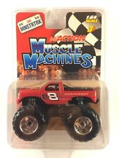 Muscle Machines Action Monster Truck Dale Earnhardt Jr Red Diecast Chevy 1/64