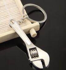 Quality Adjustable Spanner Wrench Key Ring Keyring Keychain Keyrings Tool UK