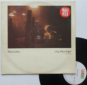 "maxi 45T Phil Collins  ""One more night"" - (TB/TB"
