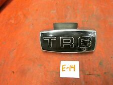 Triumph Original Center Grille Emblem & Mounting Bracket, !!