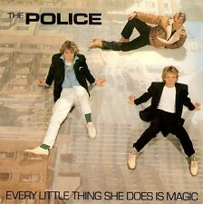 THE POLICE Every Little Thing She Does Is Magic Vinyl 7 Inch A&M AMS 8174 1981