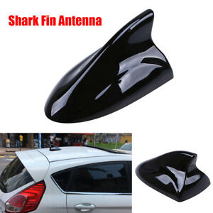 AM FM Signal Amplifier Car Radio Aerials Shark Fin Antenna Auto Roof Decoration