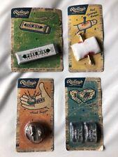 New Ridleys novelties 4 classic gags Bug ice cube, nail finger, snap gum, buzzer