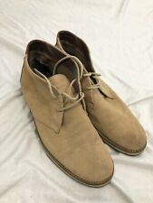 French Connection Corian Suede Chukka Boots size 11 Men's EU size 44 sand