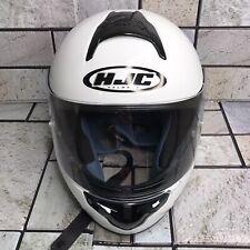 Motorcycle Helmet HJC CL-16 Full-Face Helmet -  White - Adult Size S