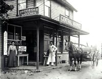 "1907 General Store, Siasconset, MA Vintage Photograph 8.5"" x 11"" Reprint"